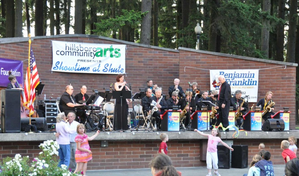 Millennium Dance Band at Shute Park