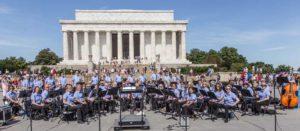 LOMCB at Lincoln Memorial