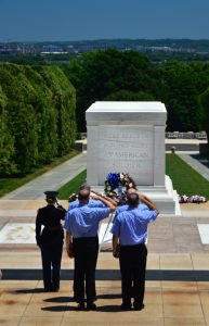 Arlington Cemetery, Laying of Wreath at Tomb of the Unknown Soldier, Photography by Hans Ogren